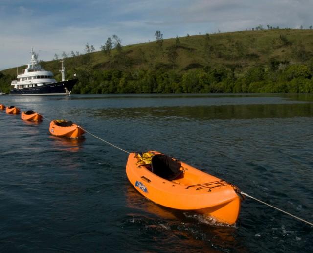 Kayaking with Andiamo