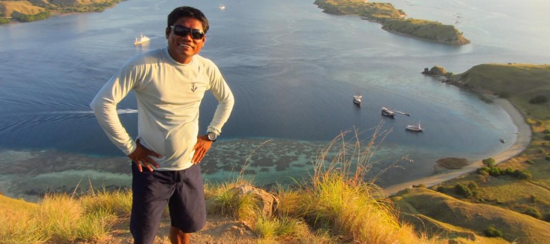 View over Komodo