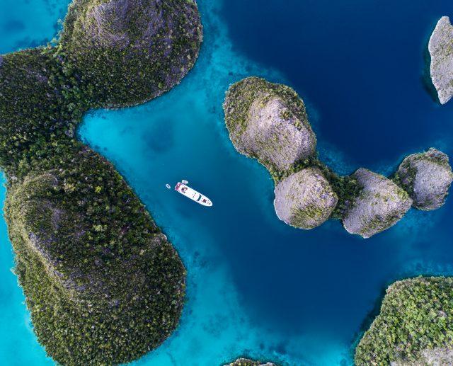 Aerial Wayag Raja Ampat